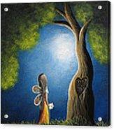 True Love Lasts Forever By Shawna Erback Acrylic Print by Shawna Erback
