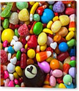 Truffle And Candy Acrylic Print