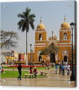 Trujillo Peru Plaza Acrylic Print