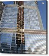 Trump International Hotel Under Construction Chicago Acrylic Print