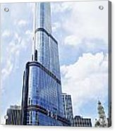 Trump Tower 3 Letter Signage Acrylic Print