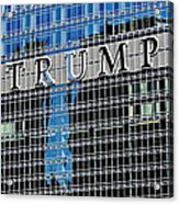 Trump Tower Marquee Acrylic Print
