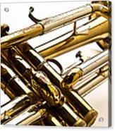 Trumpet Valves Acrylic Print