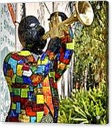 Trumpeter Acrylic Print