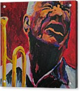 Trumpeter Shades Of Red Acrylic Print