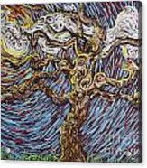 Trunk Of A Tree Acrylic Print