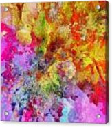 Try Try Try Acrylic Print