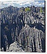 Tsingy De Bamaraha Madagascar Acrylic Print