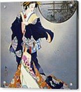 Tsukiakari Acrylic Print