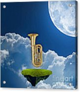 Tuba Dreams Acrylic Print