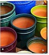 Tubac Pottery 2 Acrylic Print