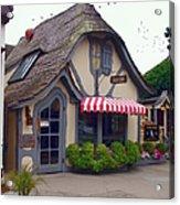 Tuck Box Tearoom - Carmel California Acrylic Print