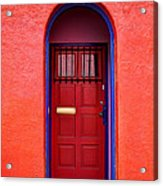 Tucson Doorway Acrylic Print
