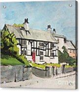 Tudor Cottage Cheshire England Acrylic Print