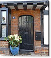 Tudor Cottage Doorway Acrylic Print