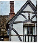 Tudor House Acrylic Print
