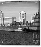 Tug With No Tow Acrylic Print