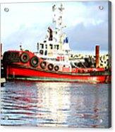 Tugboat Captain Acrylic Print