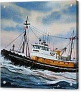 Tugboat Island Commander Acrylic Print