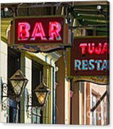 Tujague's Bar And Restaurant Acrylic Print