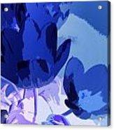 Tulip Abstract 2 Acrylic Print