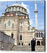 Tulip Mosque In Istanbul Acrylic Print