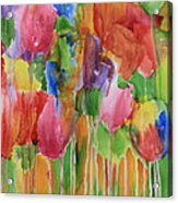 Tulip Palooza Acrylic Print