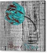 Tulip - Vivre Et Aimer S12ab4t Acrylic Print