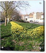 ONE SUMMER DAY - 2014 At UPPER ROAD - Plaistow Acrylic Print