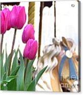 Tulips Acrylic Print by Ece Erduran