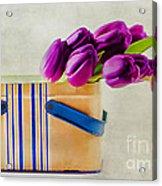 Tulips For Mom Acrylic Print