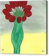 Tulips Of Love Acrylic Print