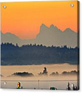 Tully Fog In Everett Acrylic Print