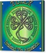 Tully Ireland To America Acrylic Print