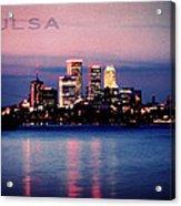 Tulsa Colors Acrylic Print
