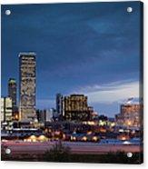 Tulsa, Oklahoma, City View Acrylic Print
