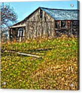 Tumbledown Acrylic Print by Steve Harrington