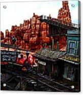 Tumbleweed Town Magic Kingdom Acrylic Print