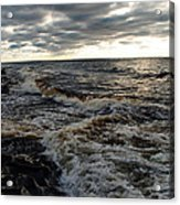 Tumultious Waters Acrylic Print