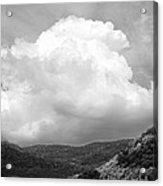 Tunbridge Vermont Storm Cloud Open Edition Acrylic Print