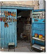 Tunesian Shoemaker Shop Acrylic Print