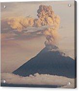 Tungurahua Volcano Erupting Acrylic Print