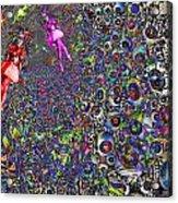 Tunnel Dance Acrylic Print by Jason Saunders