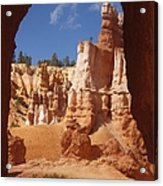 Tunnel In Bryce Acrylic Print