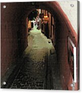 Tunnel Of Love Acrylic Print