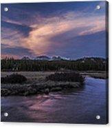 Tuolumne Meadows Sunset Acrylic Print