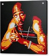 Tupac Pray For A Brighter Day Acrylic Print