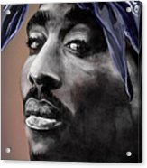 Tupac - The Tip Of The Iceberg  Acrylic Print