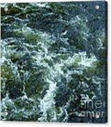 Turbulance At Loch Ness Acrylic Print