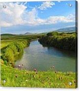 Turkey Countryside Acrylic Print